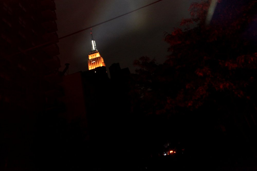empire state building after sandy