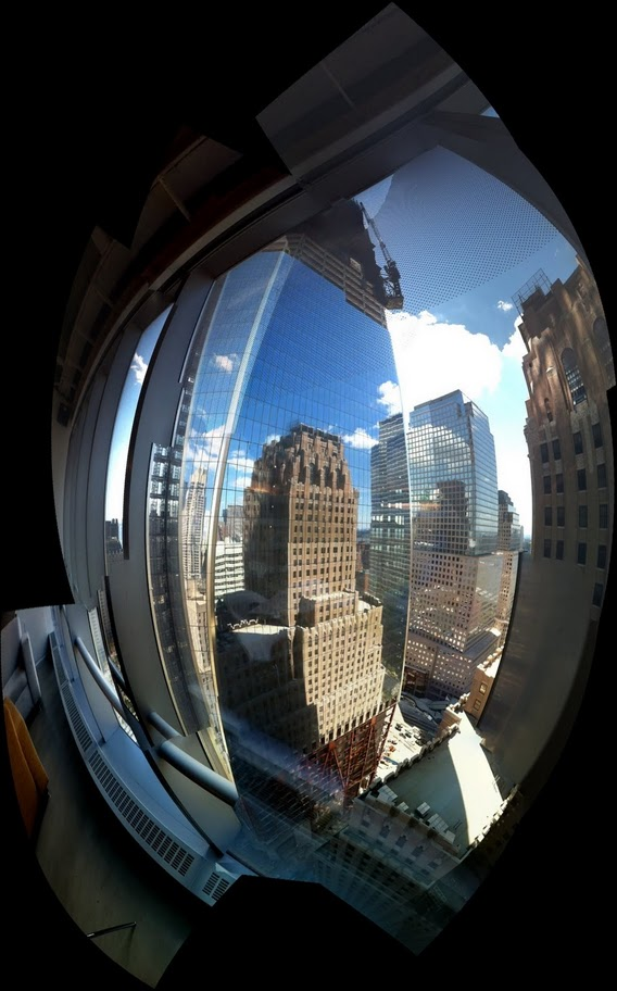 freedom tower fish eye