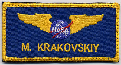blue nasa astronaut wings patches pics about space