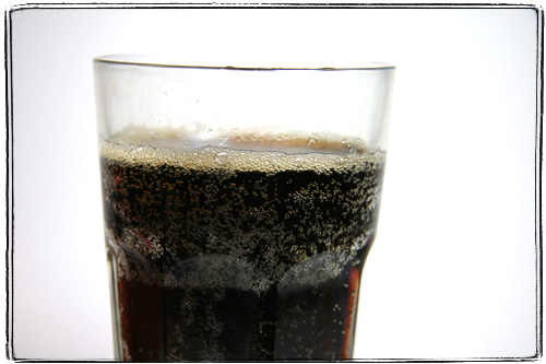 glass of coke